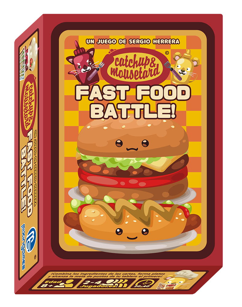 Catchup & Mousetard ~ Fast Food Battle!