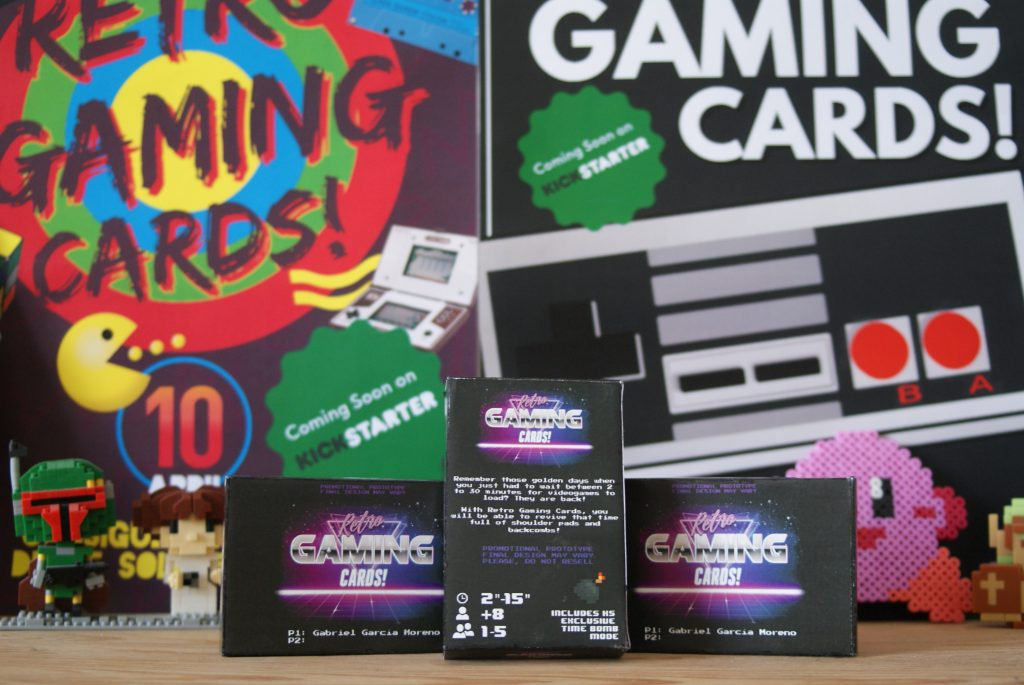 Retro gaming cards