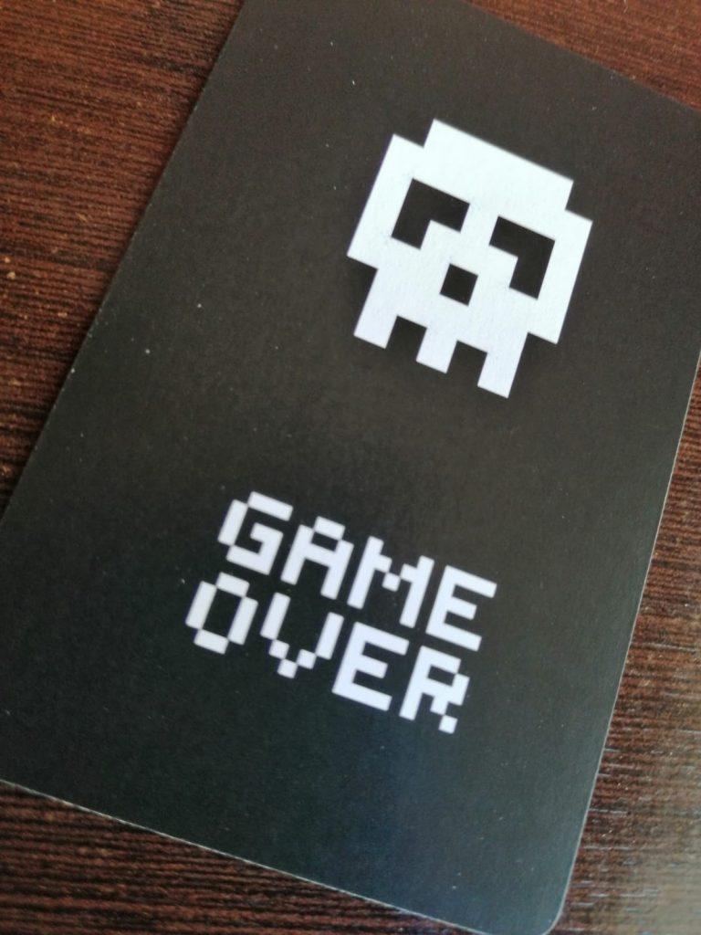 retro gaming cards