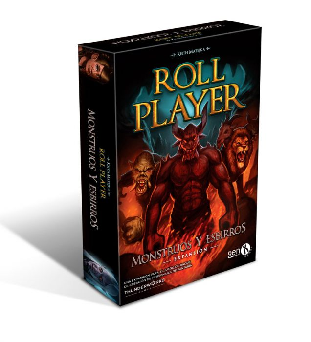 roll player monstruos y esbirros